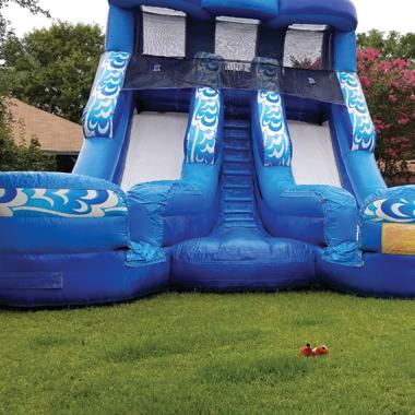San Antonio Inflatable Rentals Wet Slides Moonwalk Moonbounce